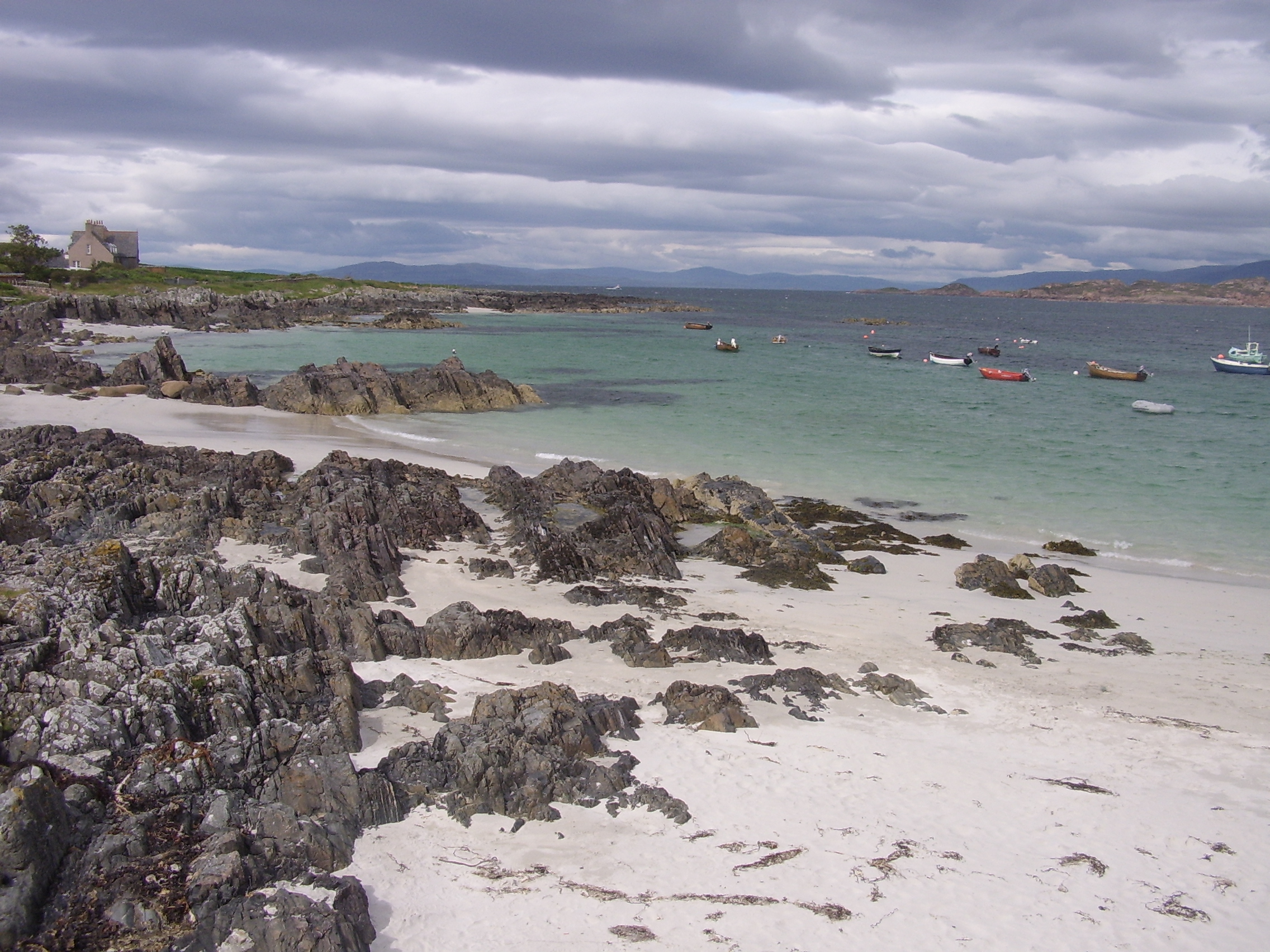 Image of the beach at Iona