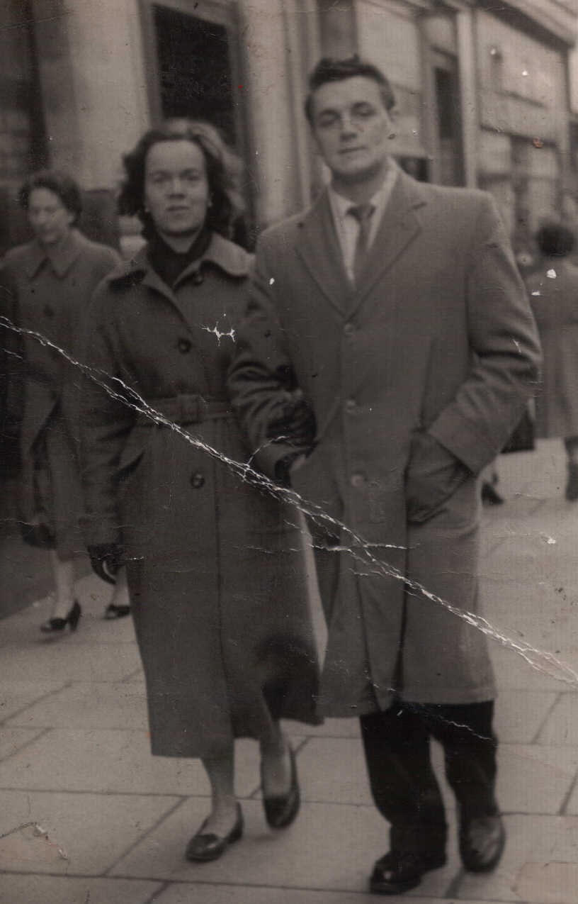 Photograph of Gran and Papa
