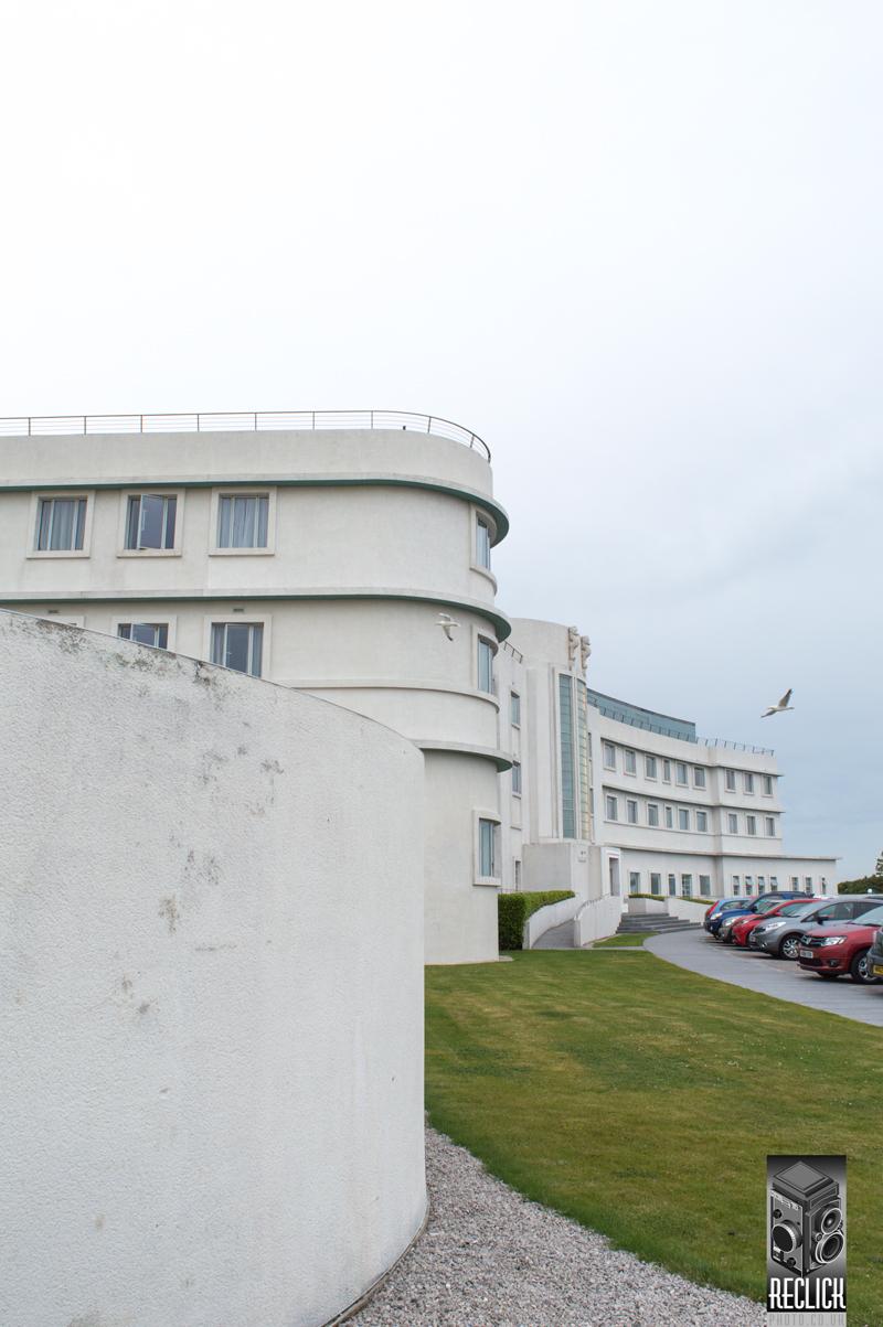 Midland hotel Morecambe Art Deco Lancashire England architecture photography
