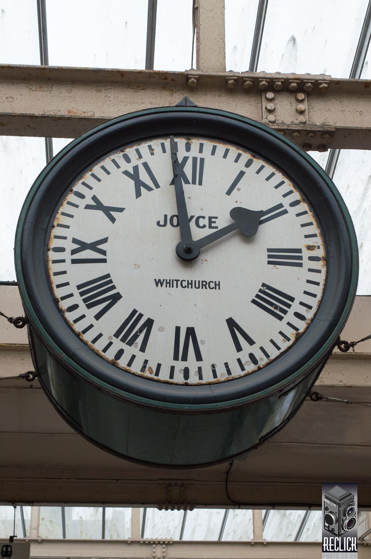 Carnforth Lancashire Railway Station clock ramp transport platform brief encounter film