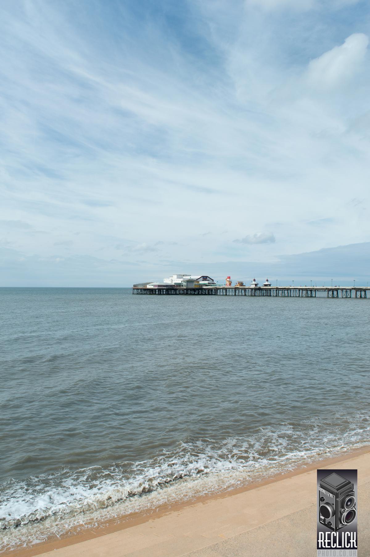 Blackpool, North Pier, promenade, seaside, resort, sea, pier, sea, Victorian, England.