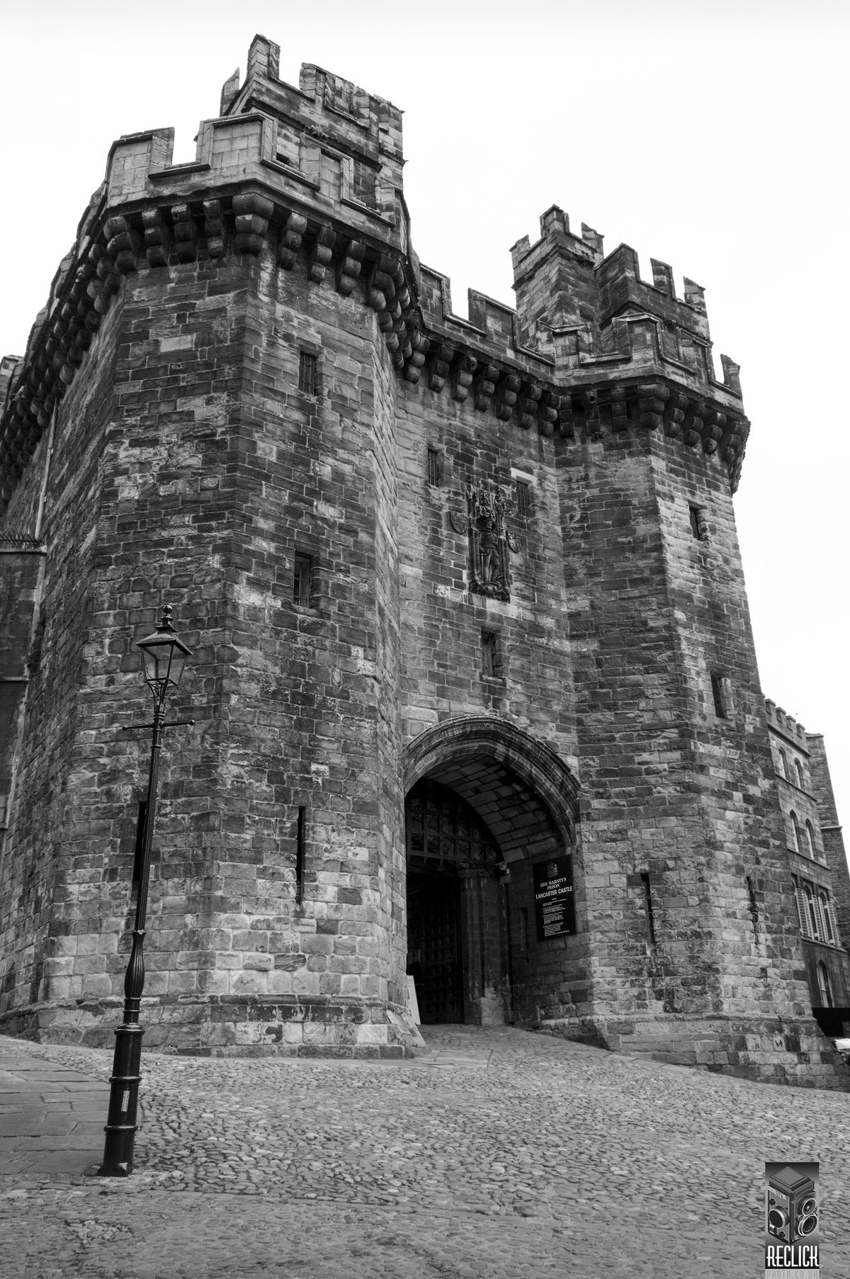 Lancaster castle England Lancashire heritage history tourism tourist attraction medieval prison court jail