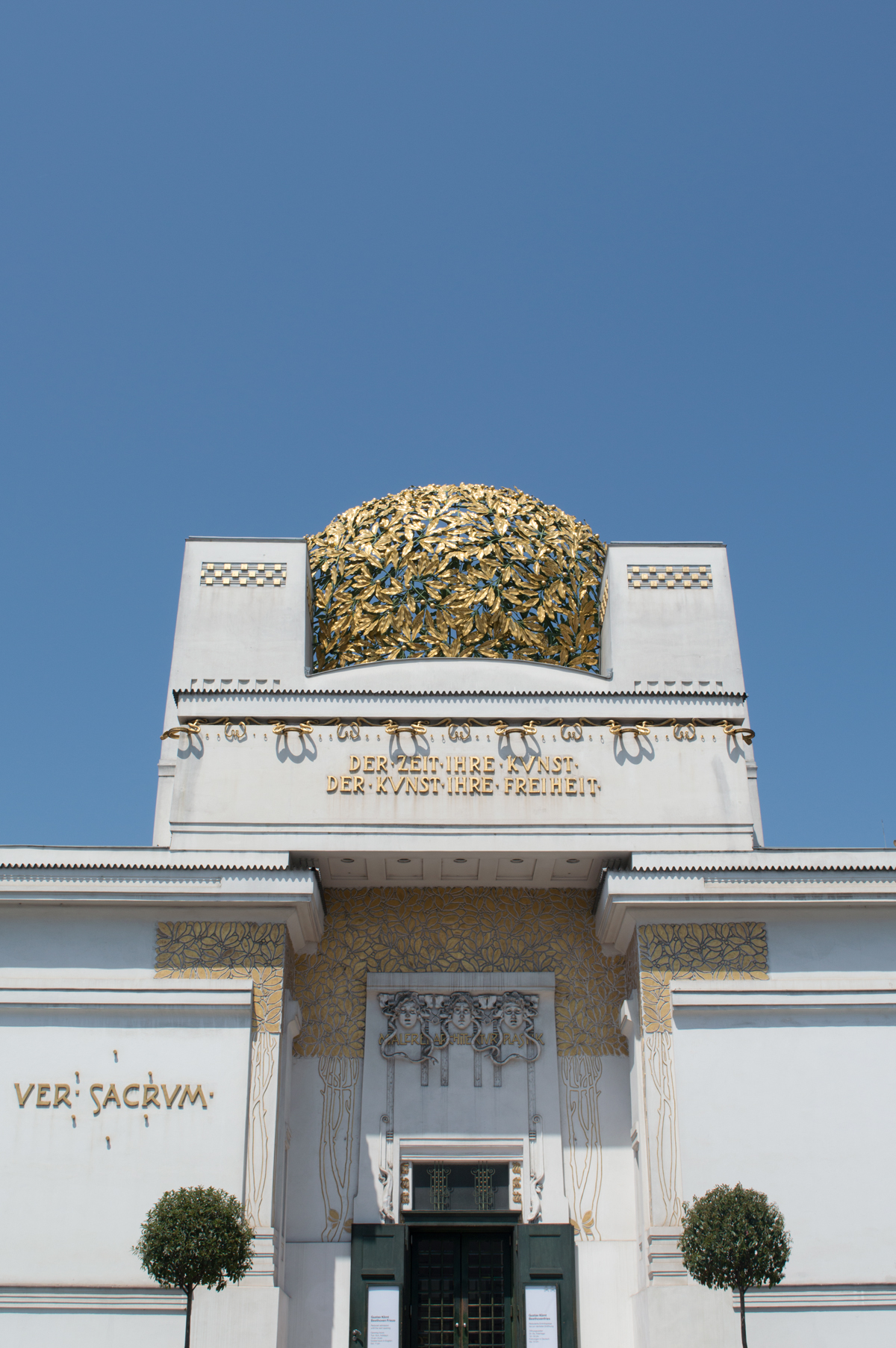 Art Nouveau, decorative arts, Gustav Klimt, Josef Hoffman, Koloman Moser, Joseph Olbrich, Vienna, Austria, architecture, gold, city, landmark, Europe