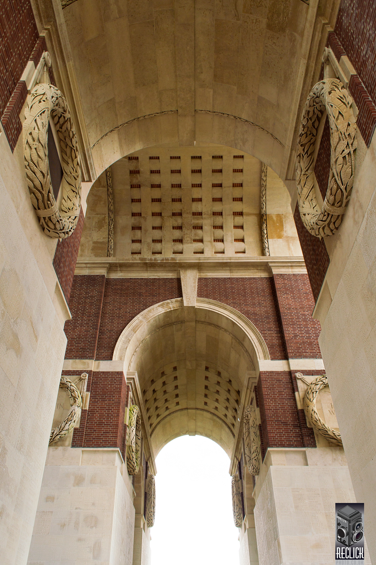 Thiepval, memorial, monument, architecture, structure, France, WWI, First World War, Battle of the Somme, Somme, Edwin Lutyens, battlefield, photography, photograph, travel, landmark, history, historic site, Nikon D3200.