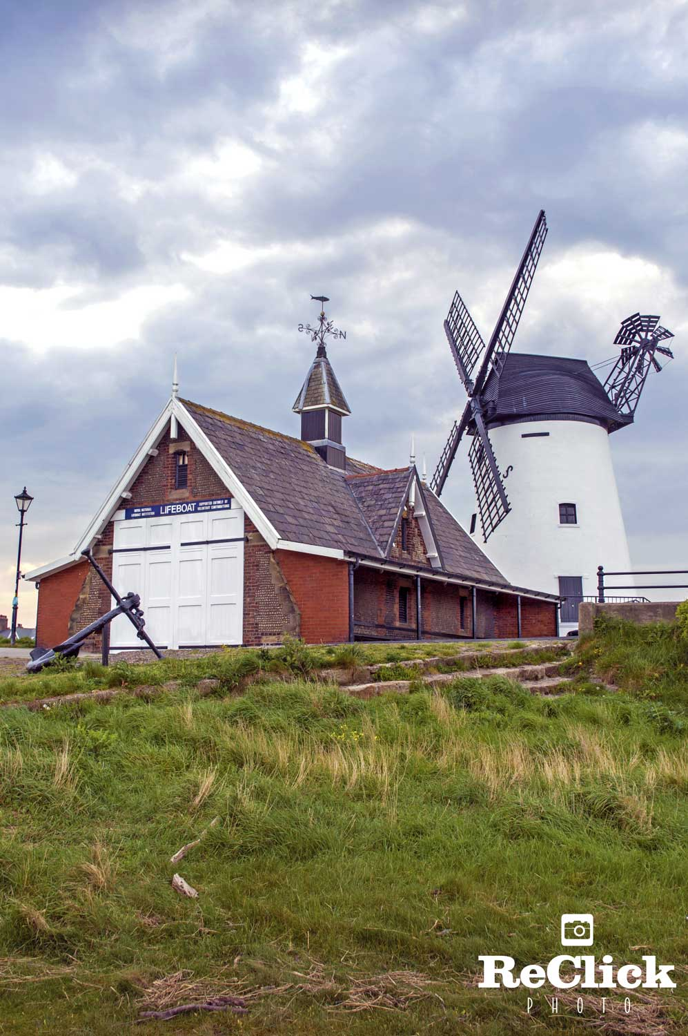 The Former Lytham Lifeboat Station, and Lytham Windmill.