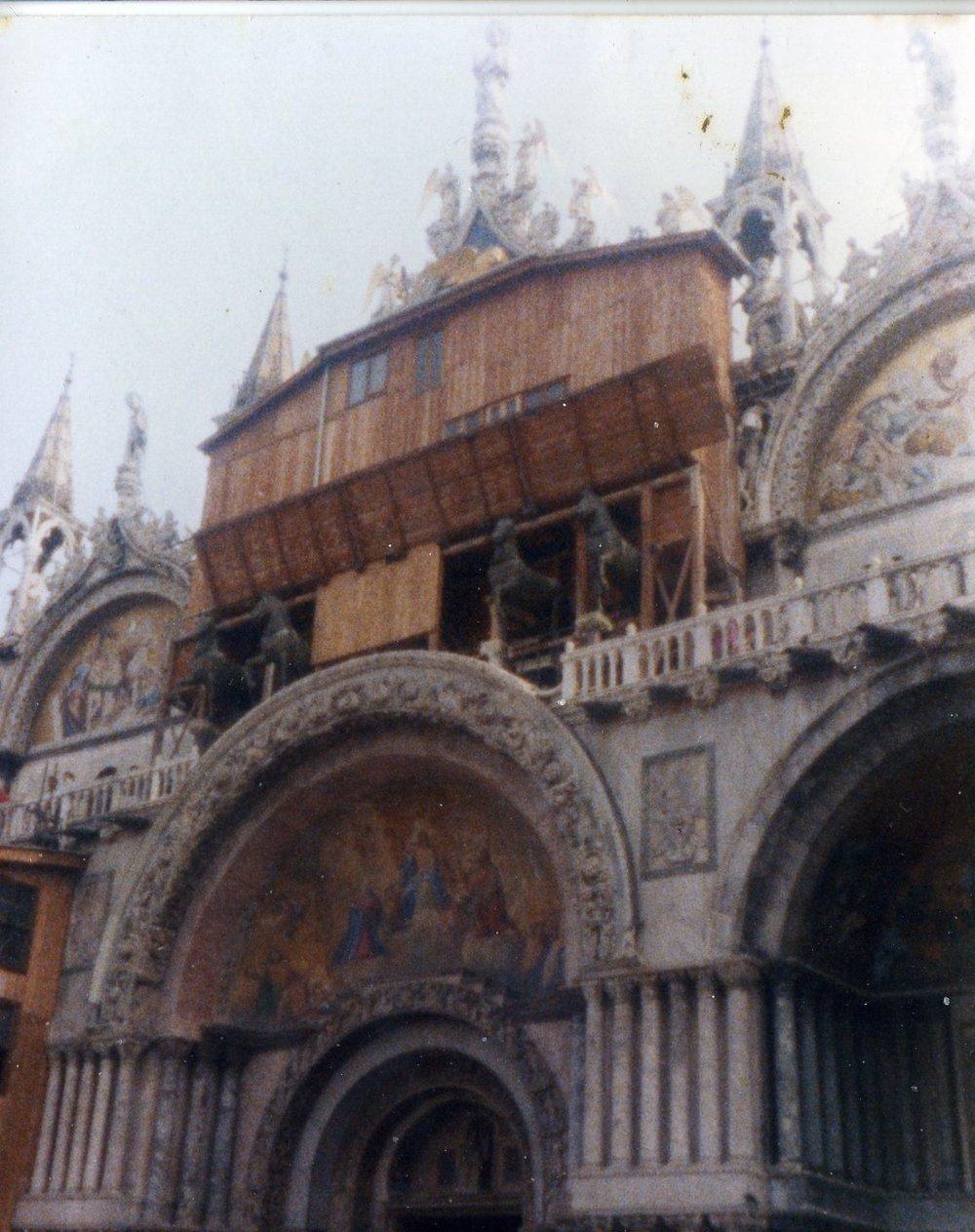 Basilica San Marco, 1990.