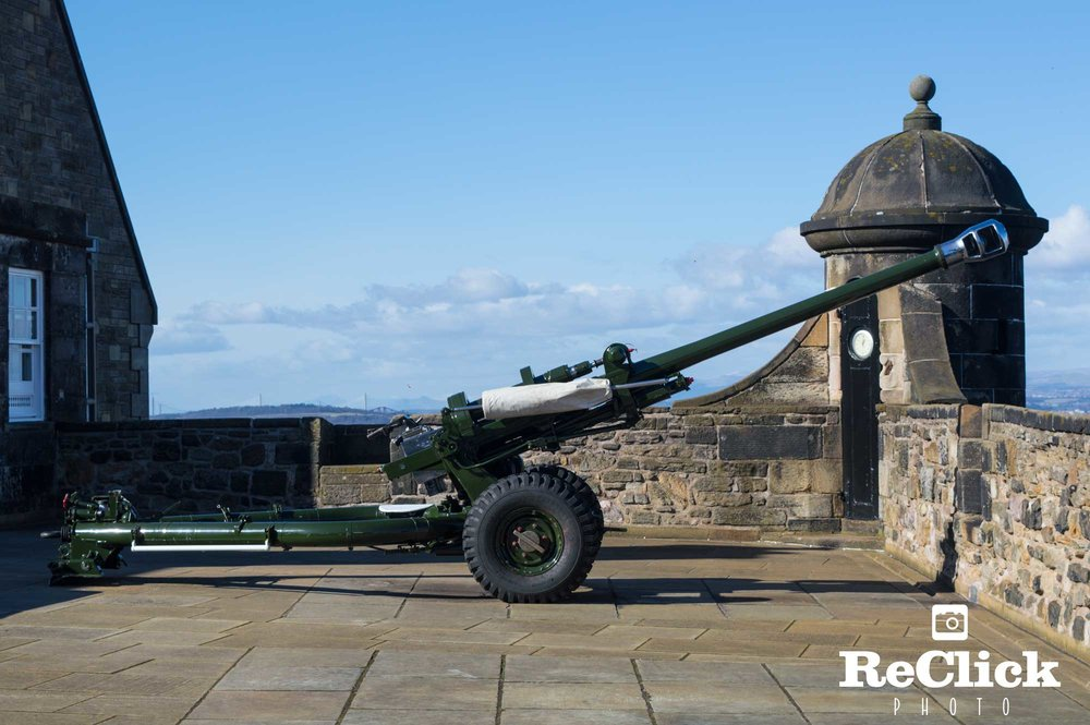Mills Mount Battery where the famous One O'clock Gun is fired.