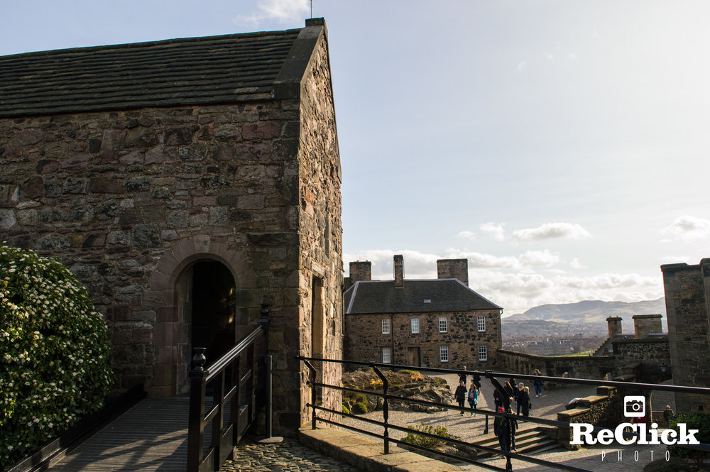 St Margaret's Chapel, Edinburgh Castle.