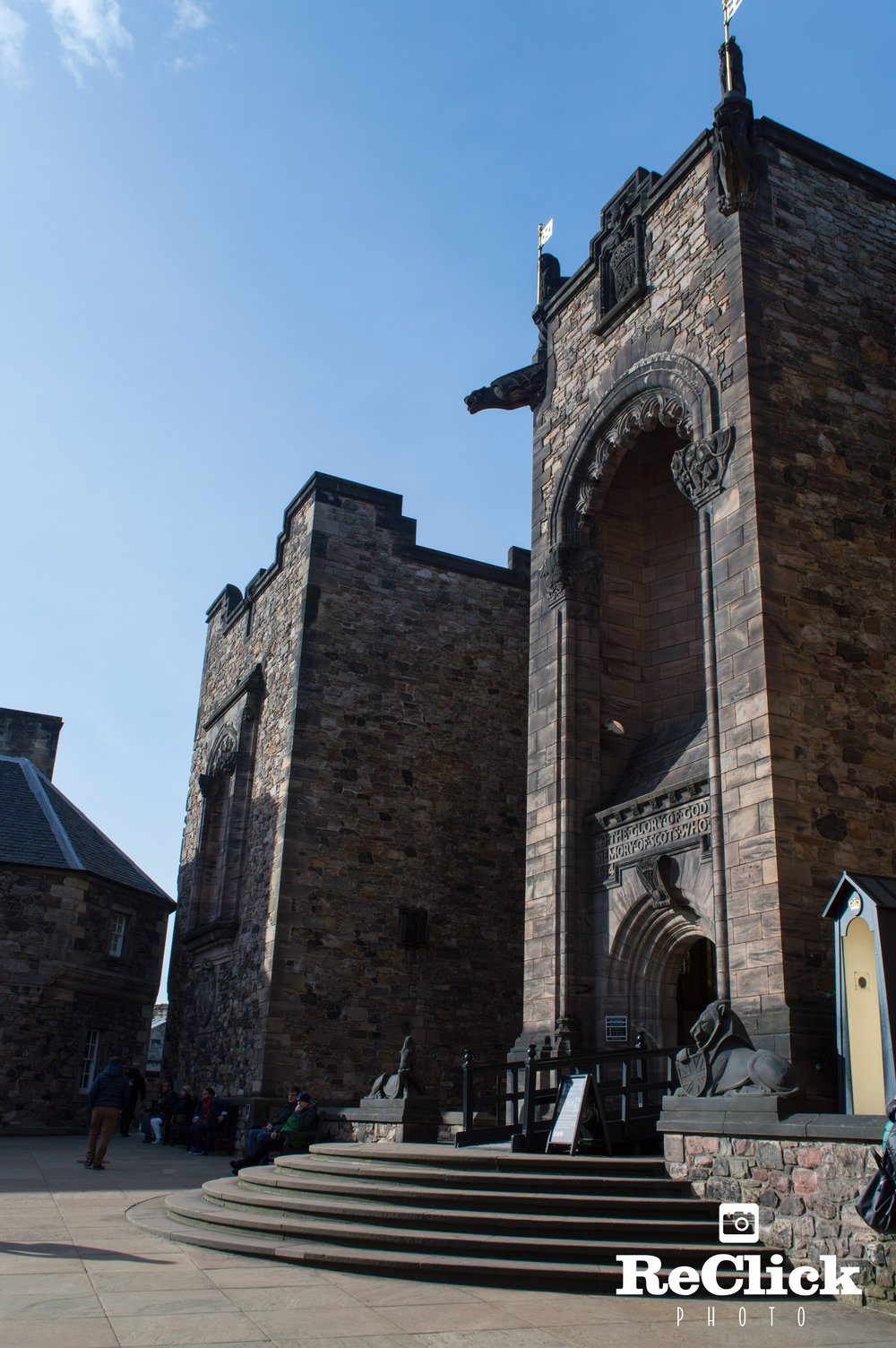 Entrance to The Scottish National War Memorial