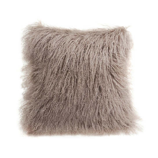 Longwool Tibetan Sheepskin  Decorative Pillow Pine Cone Hill.png