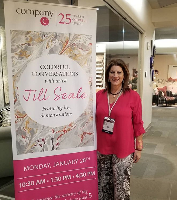 Company C and Jill Seale at Las Vegas Market 2019
