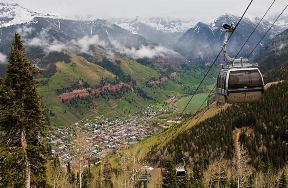 Telluride's aerial transit system