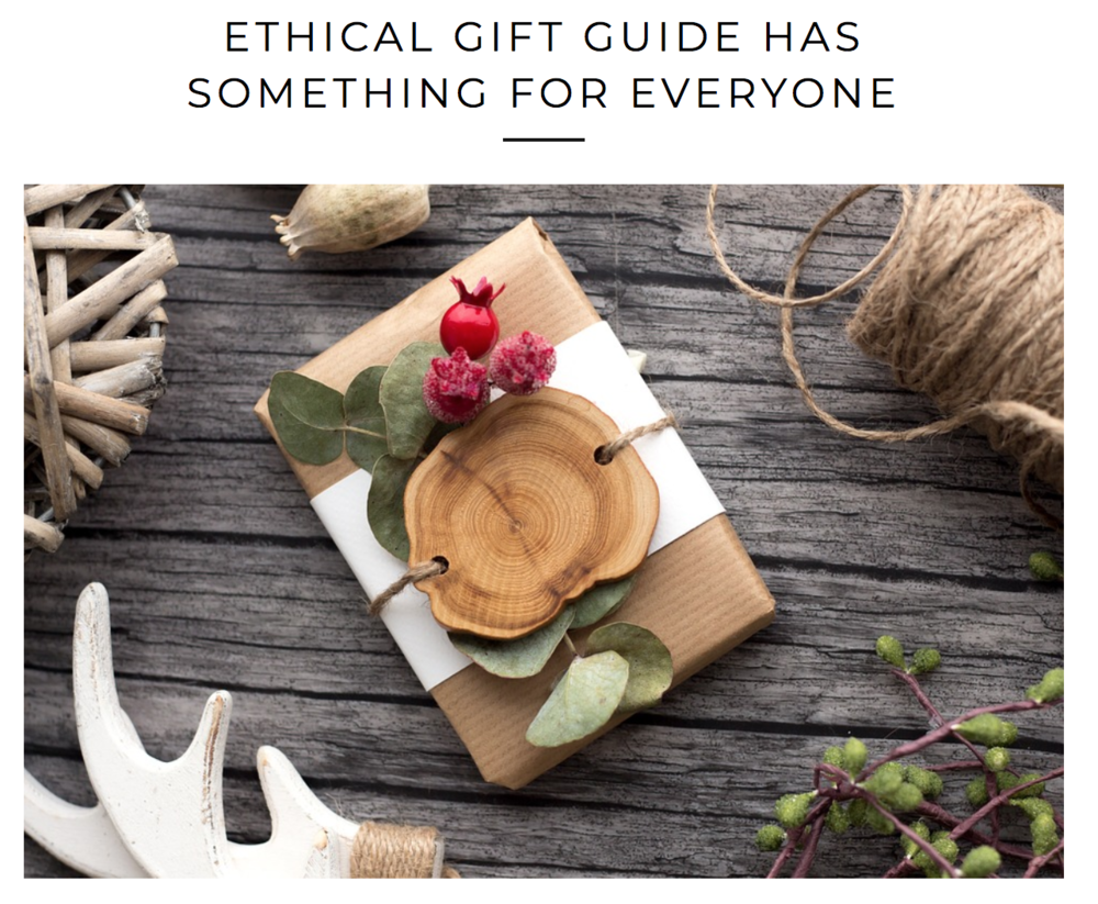 Ethical Gift Guide