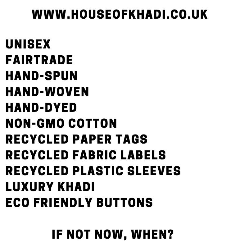 House of Khadi Sustainable Fashion