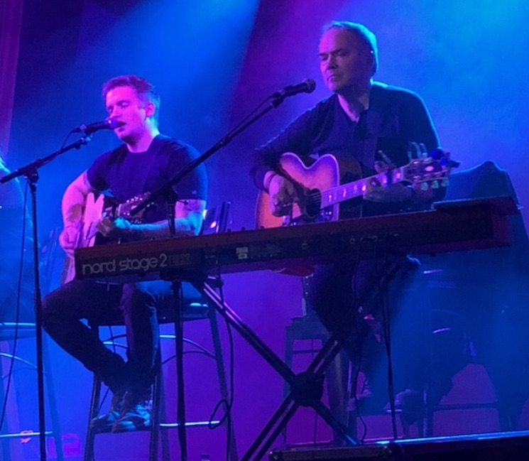 Performing with Levi in 2018
