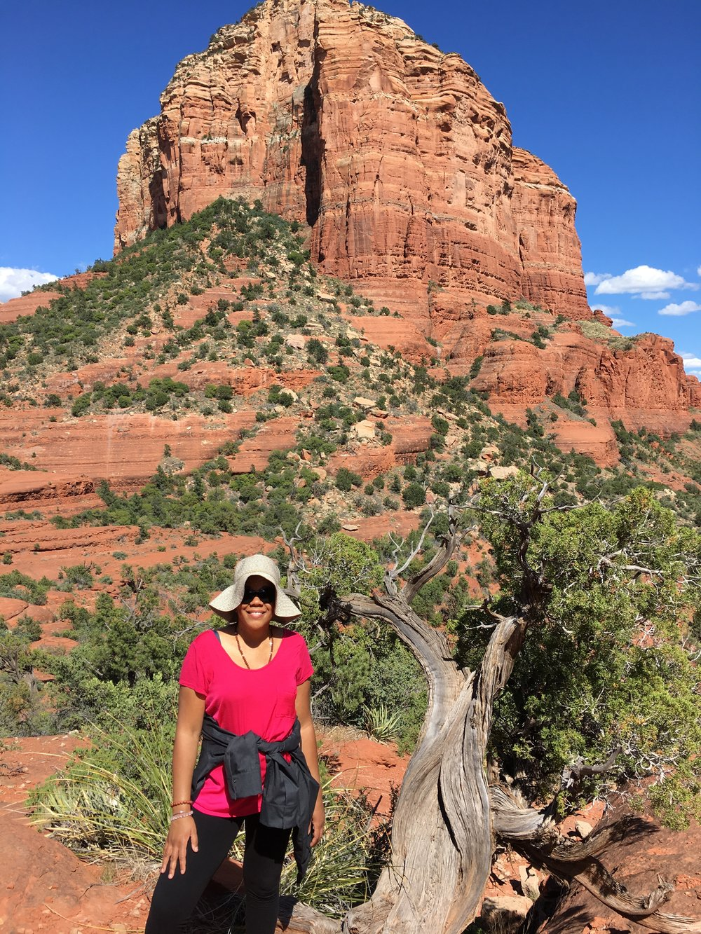 At bell Rock Vortex in Sedona, AZ