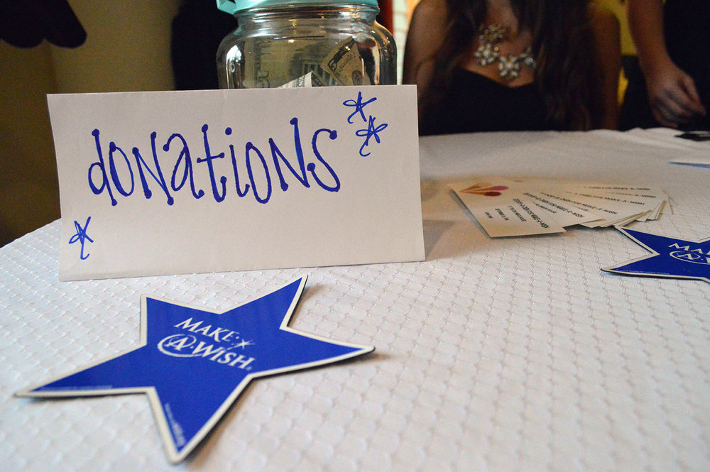 """The Scoop-A-Dish for Make-A-Wish event on Thursday, Sept.15 at the Chi Omega sorority house collected donations in addition to their ticket sales in order to raise money. """"The average wish costs $8,000 on average,"""" Chi Omega philanthropy chair Lauren Cedeno said."""