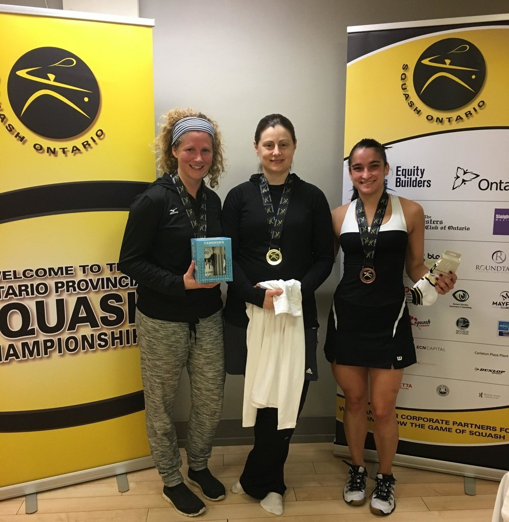 L-R: Bridgette Badalamenti, Ashley Knight, Luz Osorio