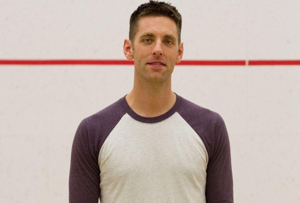 Men's 30+ finalist, Derek Moore