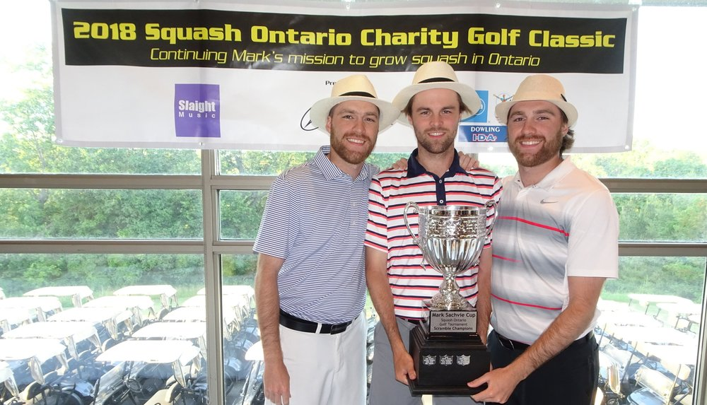 The Mark Sachvie Cup Champions - Andrew Aguanno, James Keene, Pat Aguanno, Eric Grott (not pictured).