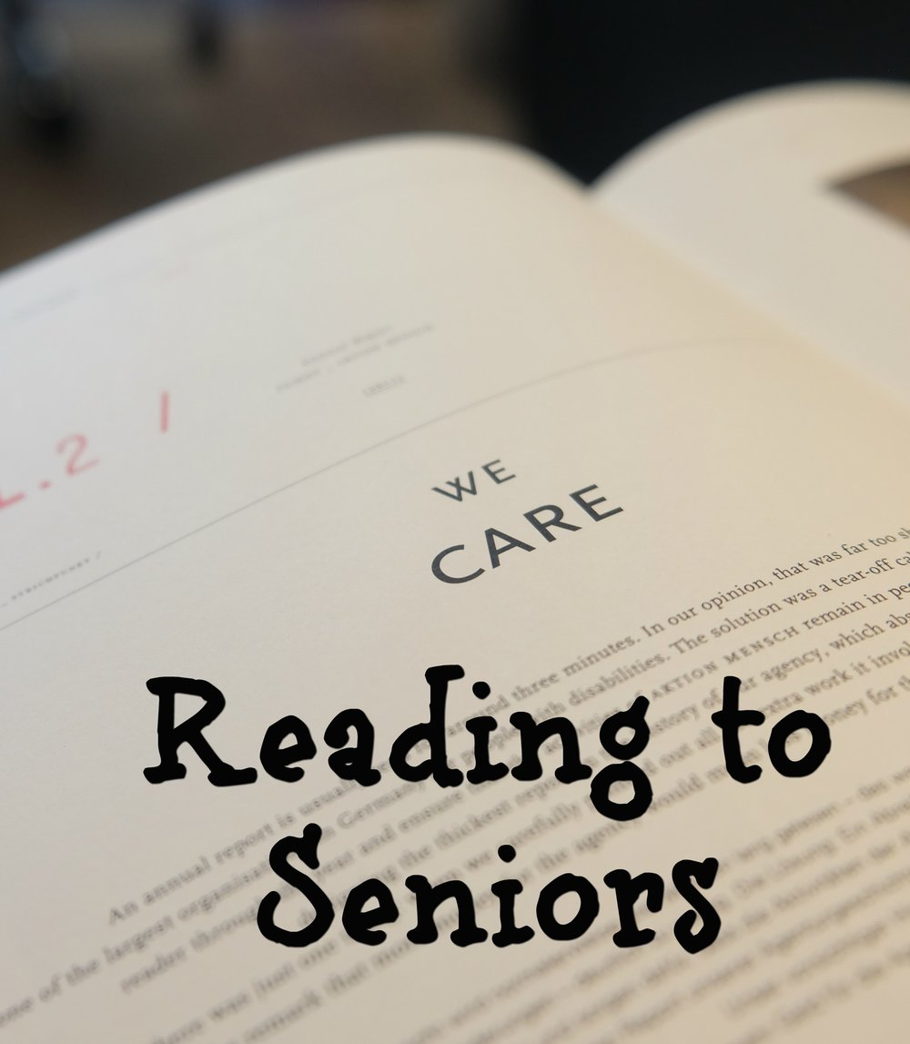 Reading to Seniors