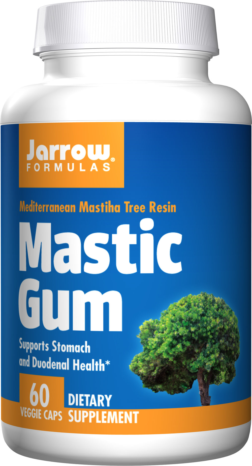 The US has become a large purchaser of mastiha.  Hospitals are buying it for bandages for wound healing, and US supplement companies have started selling it in pill form.  A serving here of Jarrow Mastic is 2 pills, 1000mg, for stomach health. -