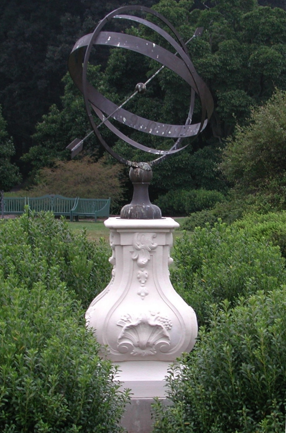 Thayer Smith, Architectural Arts Group, armillary sundial