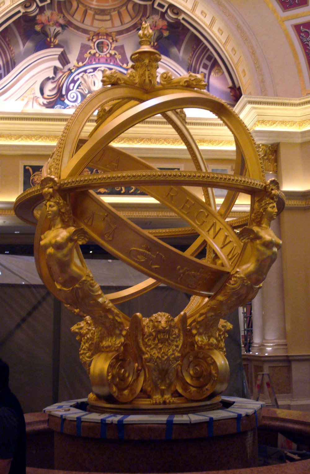 EverGreene Architectural Arts,  Plaster Studio, Armillary Sphere