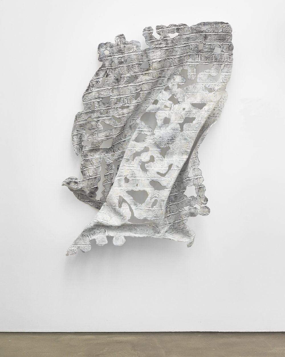Johannes VanDerBeek,  Wall (Laced Profile) , 2012