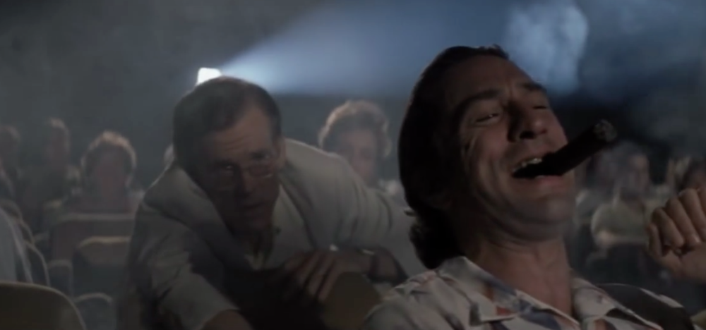 Max Caddy in Martin Scorsese's Cape Fear (Universal Pictures, 1991)