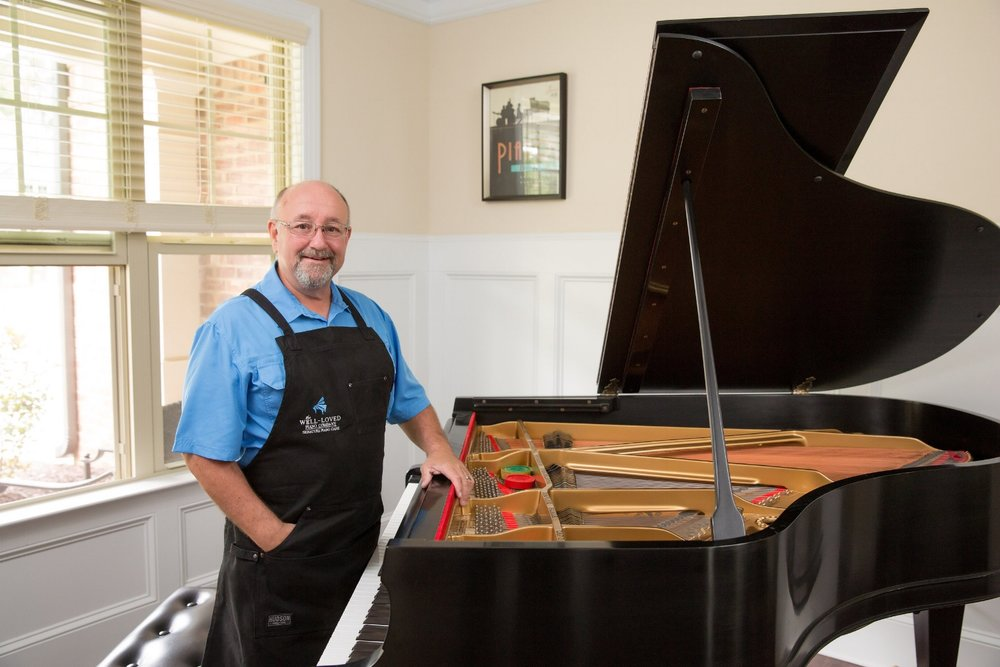 What piano service or repair do you find really fun to do?