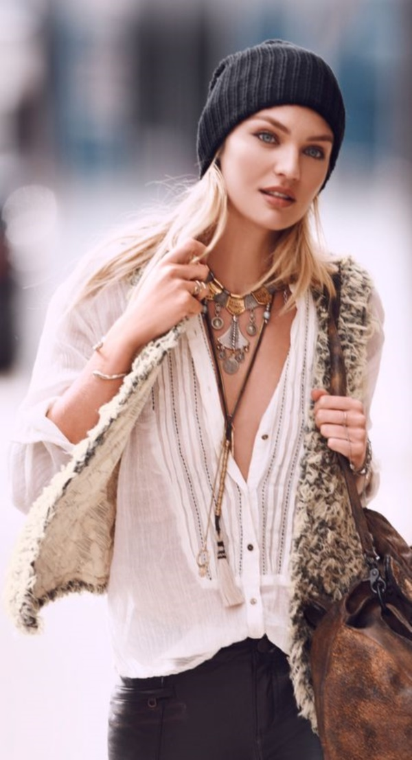 detail-boho-style-type-white-peasant-blouse-vest-fur-beanie-necklace-layers.jpg