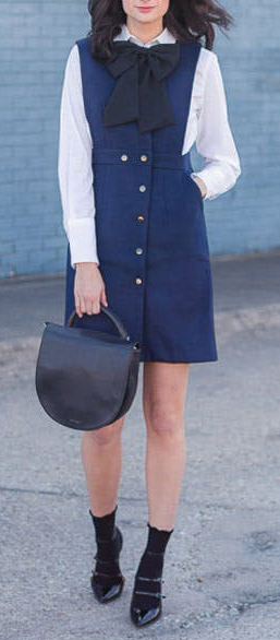 detail-retro-style-type-fashion-blue-navy-layer-over-shirt-socks-pumps-pinafore-dress-jumper.jpg