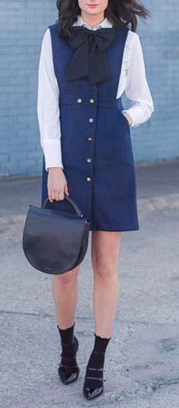 detail-retro-style-type-fashion-blue-navy-layer-over-shirt-socks-pumps-pinafore-dress-jumper.jpg