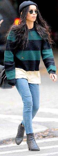 comfort-rebel-grunge-style-type-zoekravitz-stripe-print-sweater-beanie-dreads-jeans-skinny-booties-streetstyle.jpg