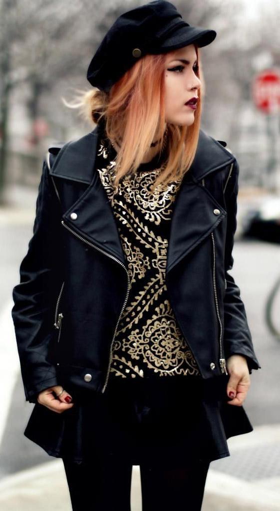 detail-rebel-grunge-style-type-black-moto-jacket-hat-colored-hair-red-gold.jpg