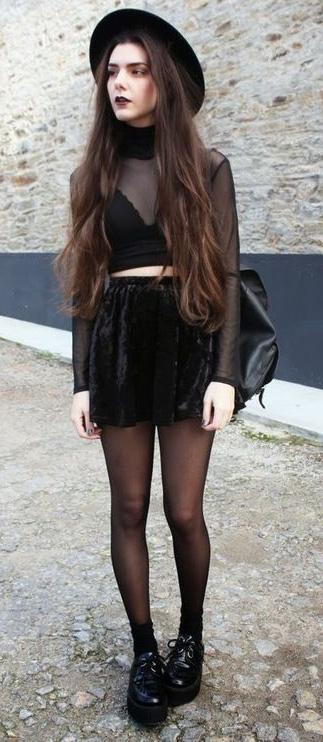 key-rebel-grunge-style-type-monochromatic-black-mini-sheer-top-hat-dark-tights-streetstyle.jpg