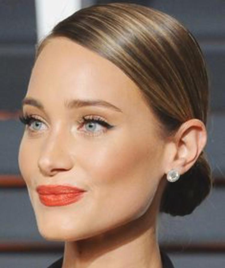 makeup-classic-style-type-hair-sleek-bun-orange-lipstick-diamond-earrings.jpg