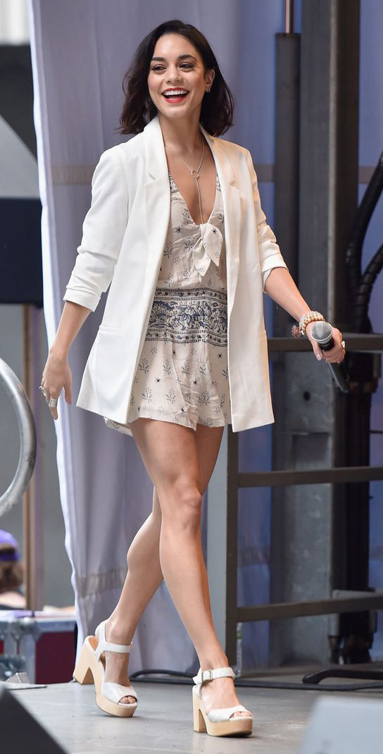 white-jumper-romper-print-white-jacket-blazer-oversized-necklace-white-shoe-sandalw-vanessahudgens-spring-summer-brun-lunch.jpg
