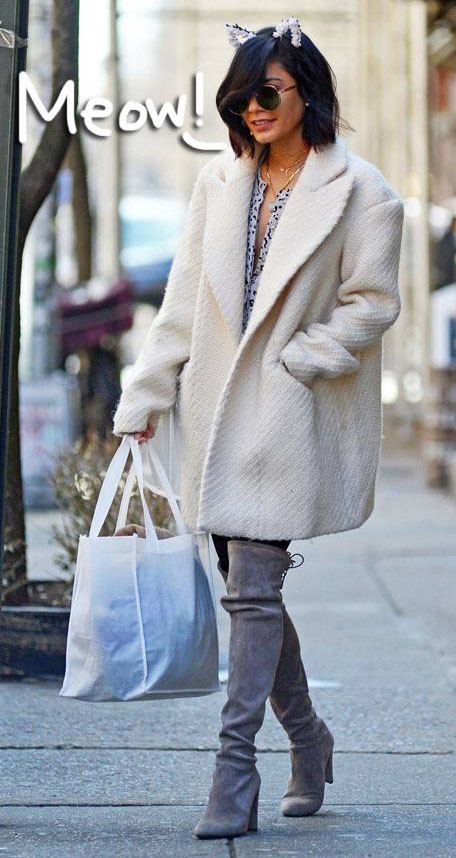 white-jacket-coat-catears-gray-shoe-boots-overknee-vanessahudgens-fall-winter-brun-lunch.jpg