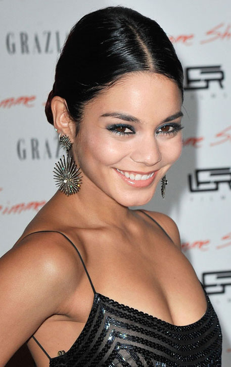 hair-vanessahudgens-brun-eyeshadow-earrings-bun-dress.jpg