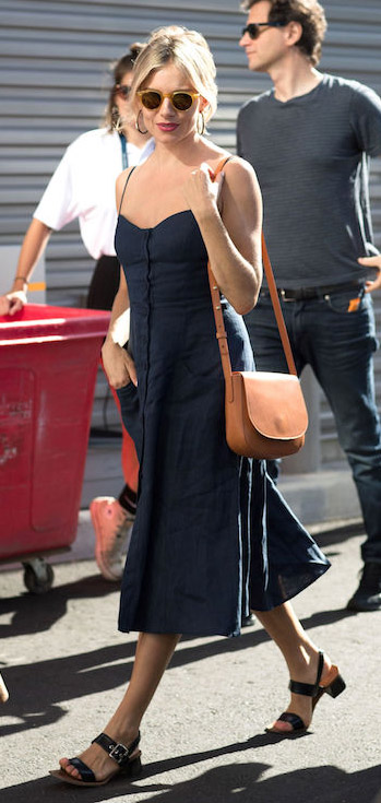 blue-navy-dress-tank-black-shoe-sandals-cognac-bag-sun-hoops-siennamiller-spring-summer-blonde-weekend.jpg