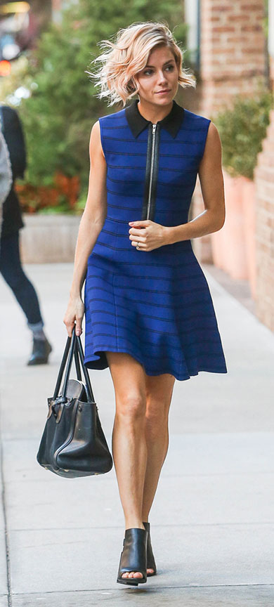 blue-navy-dress-aline-black-bag-black-shoe-sandalh-siennamiller-spring-summer-blonde-work.jpg