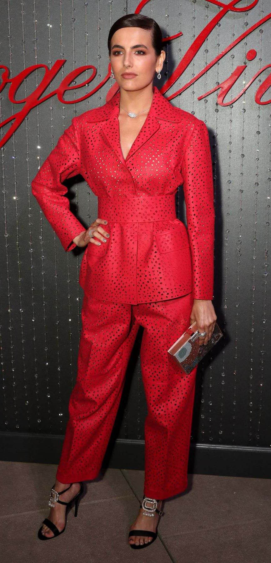 red-wideleg-pants-red-jacket-suit-earrings-black-shoe-sandalh-camillabelle-brun-spring-summer-dinner.jpg