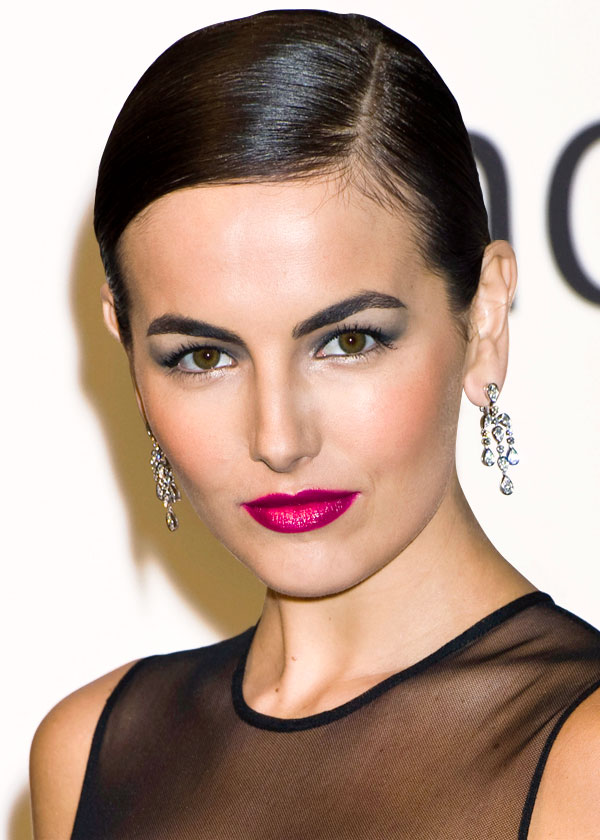 hair-makeup-camillabelle-brun-updo-sidepart-pinklips-earrings-eyeshadow.jpg