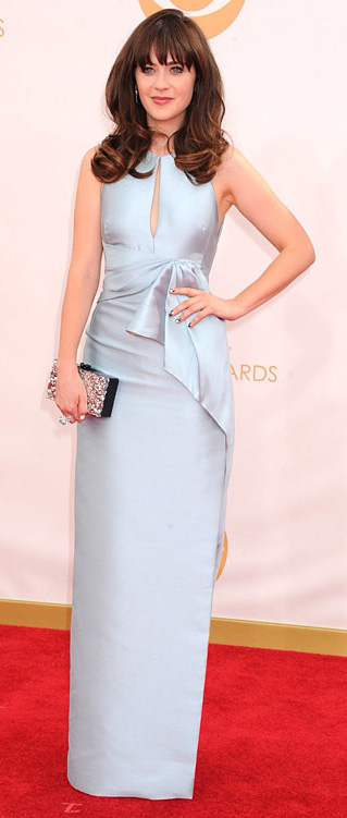 blue-light-dress-gown-bow-zooeydeschanel-brun-spring-summer-elegant.jpg