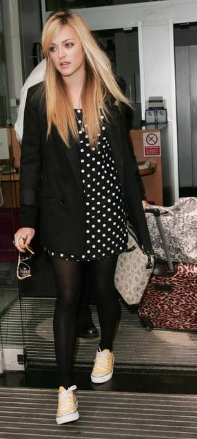 black-dress-mini-dot-print-black-jacket-blazer-black-tights-white-shoe-sneakers-fearnecotton-fall-winter-blonde-weekend.jpg