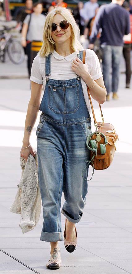 blue-med-jumpsuit-white-top-tan-shoe-flats-sun-blonde-cognac-bag-fall-winter-wear-fashion-style-fearnecotton-denim-overalls-celebrity-weekend.jpg