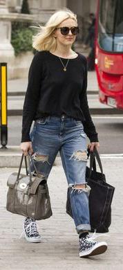 blue-med-boyfriend-jeans-black-sweater-black-shoe-sneakers-sun-blonde-necklace-outfit-fall-winter-fearnecotton-gray-bag-weekend.jpg