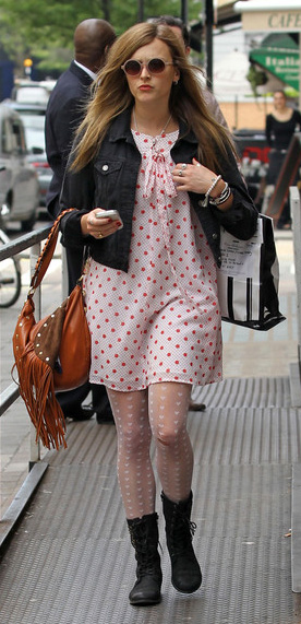 r-pink-light-dress-zprint-dot-white-tights-black-jacket-jean-black-shoe-booties-cognac-bag-hogo-sun-mini-wear-style-fashion-spring-summer-fearnecotton-blonde-lunch.jpg